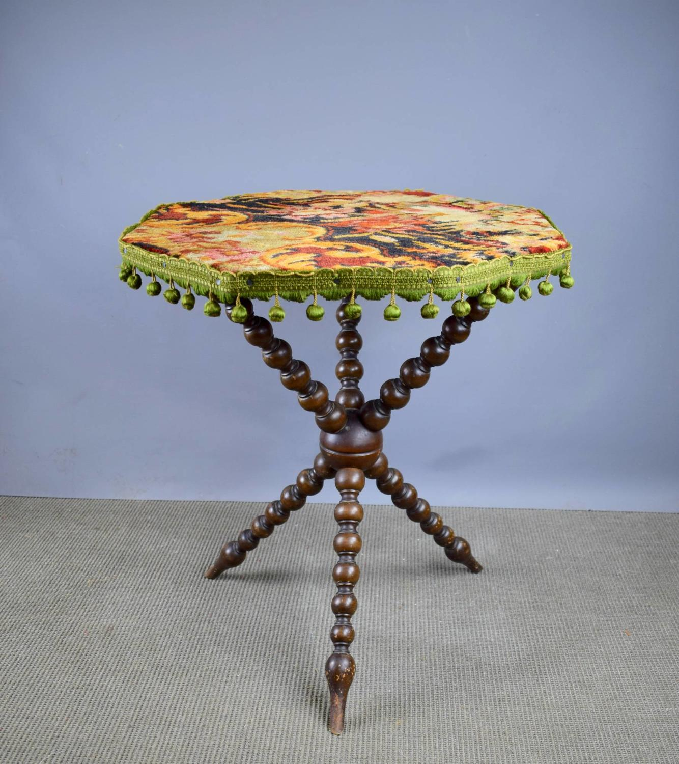 Victorian Bobbin Turned 'Gipsy' Table