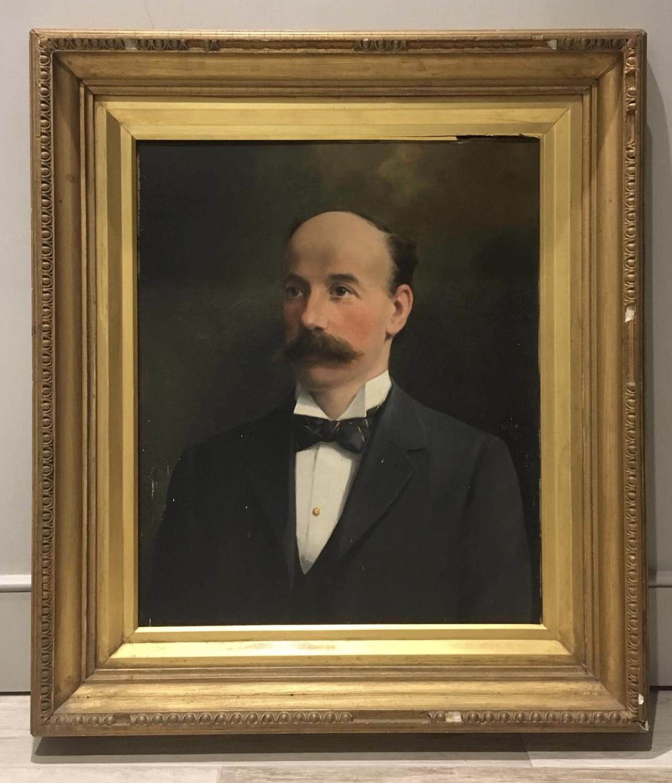 Portrait of a Victorian Gentleman, Oil on Canvas