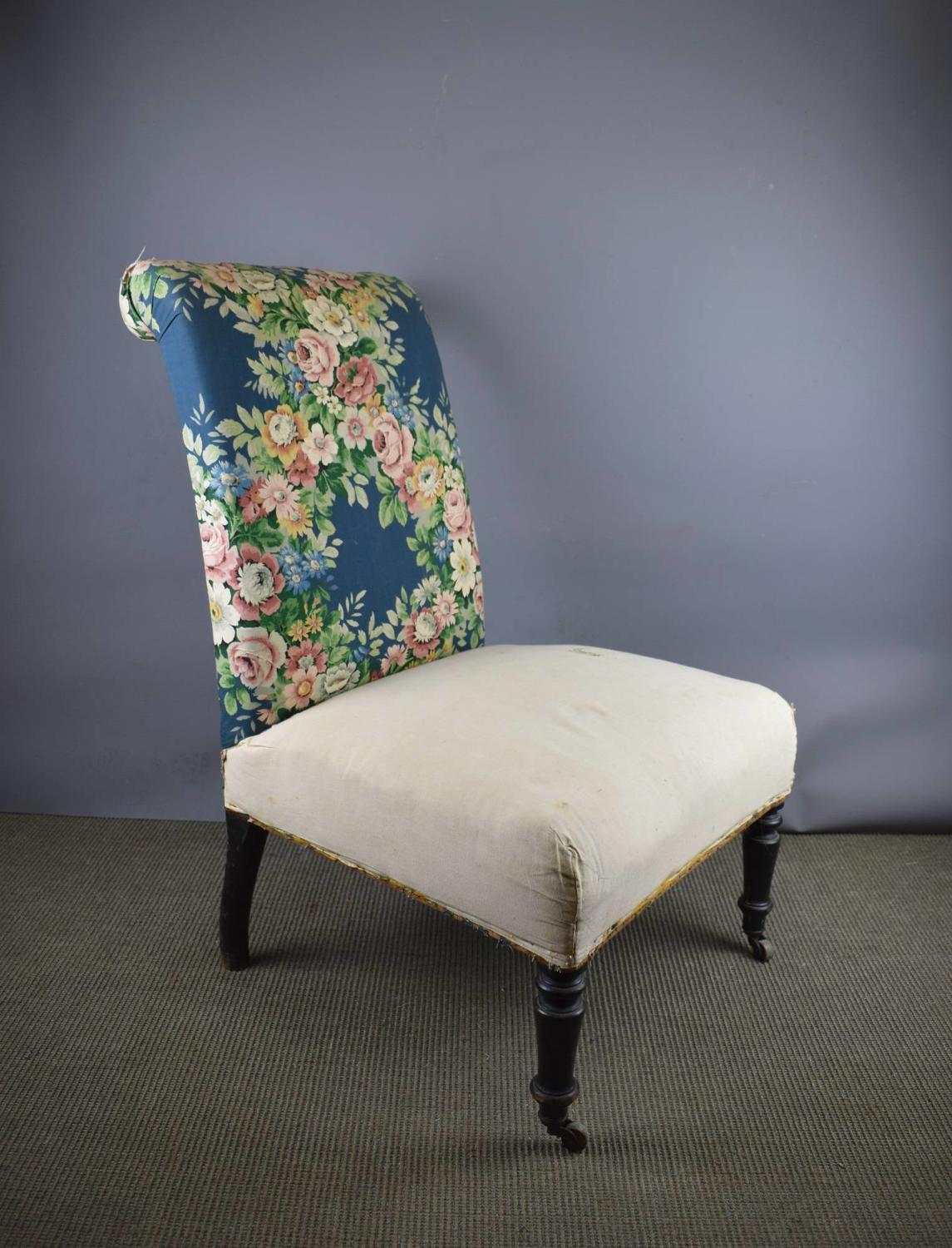 Antique French Napoleon III Chair