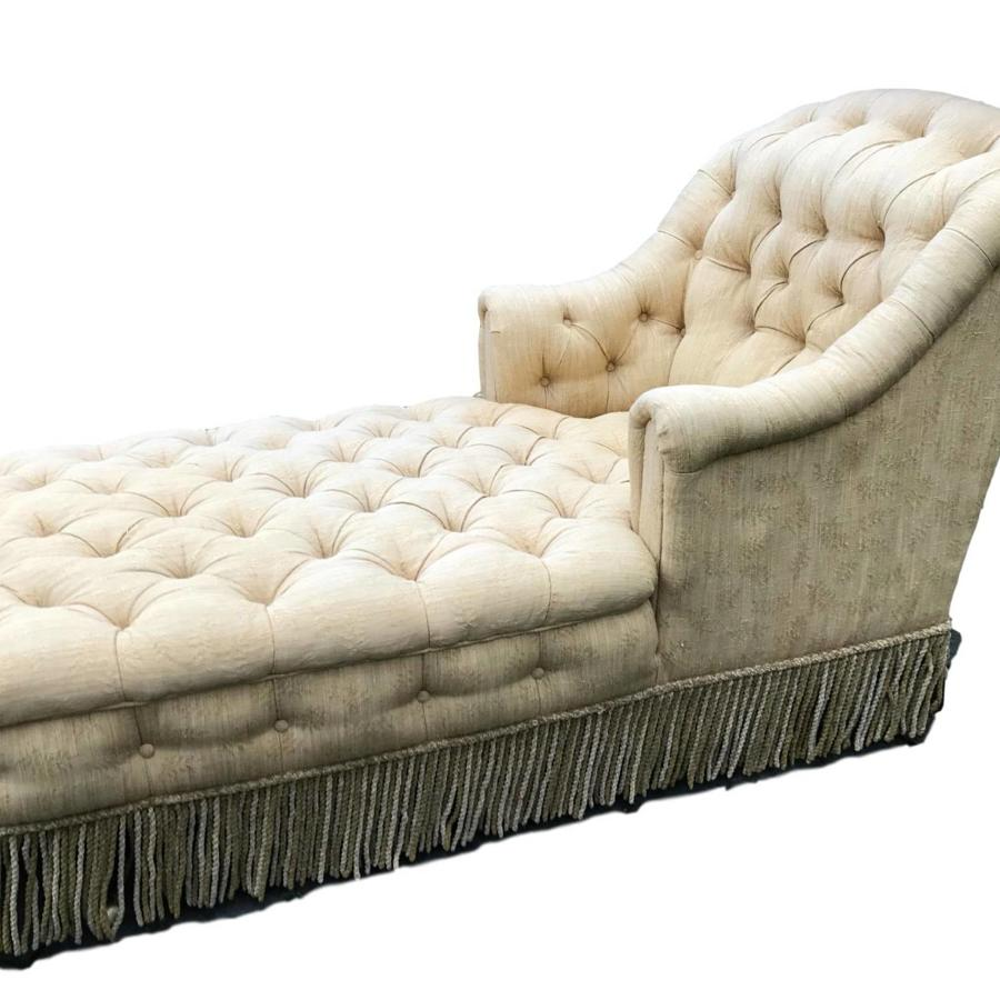 Country House Daybed in the Manner of Howard & Sons