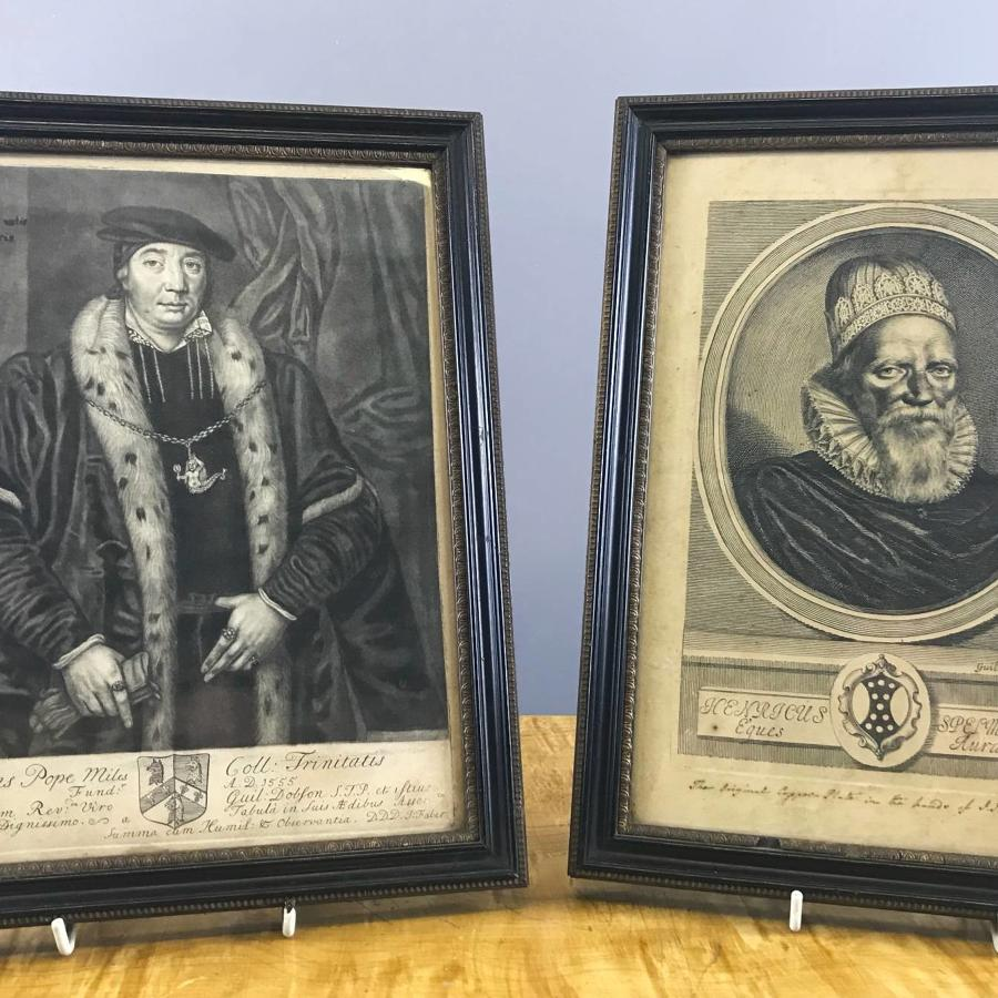 18th Century Portrait Engravings