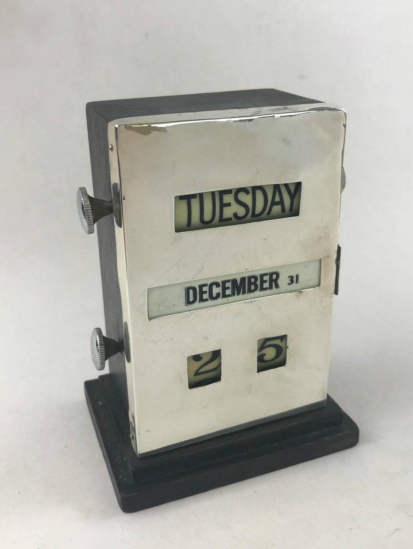 Silver Desk Calendar, Birmingham 1947