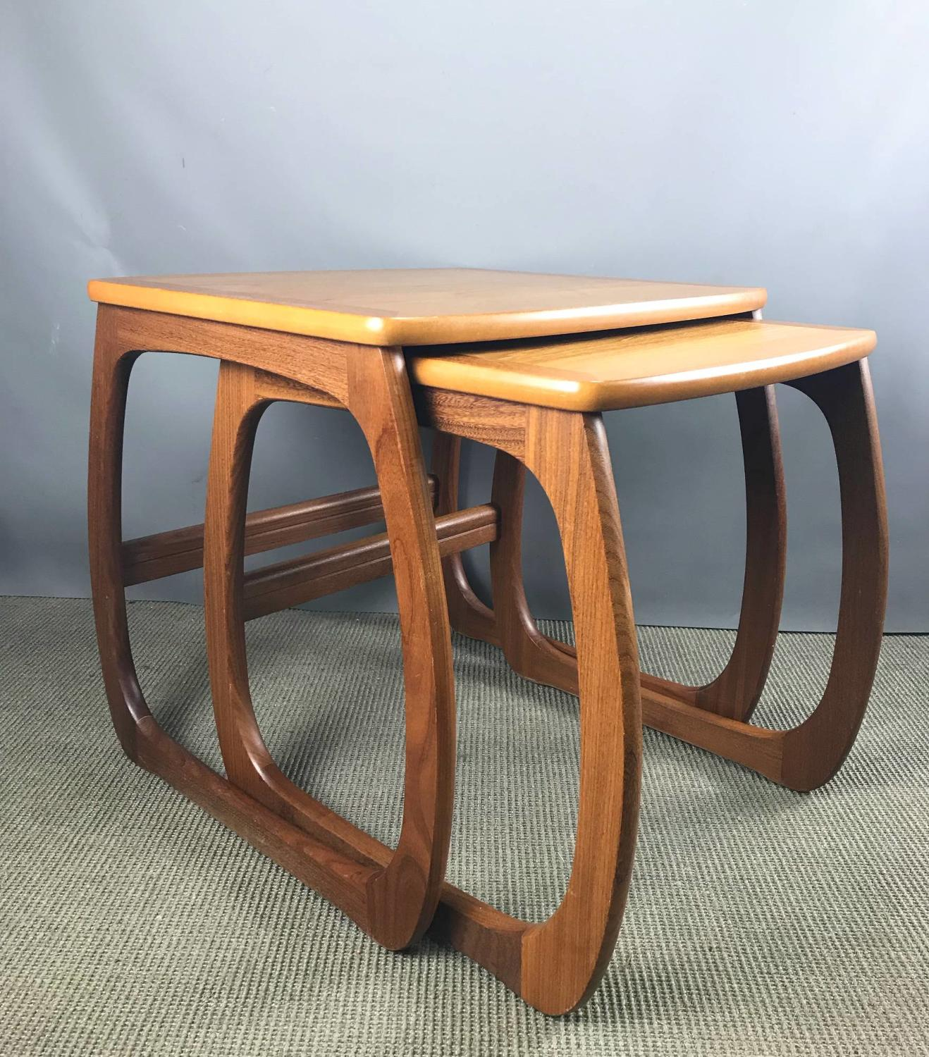 Nathan Furniture Teak Nest of Tables