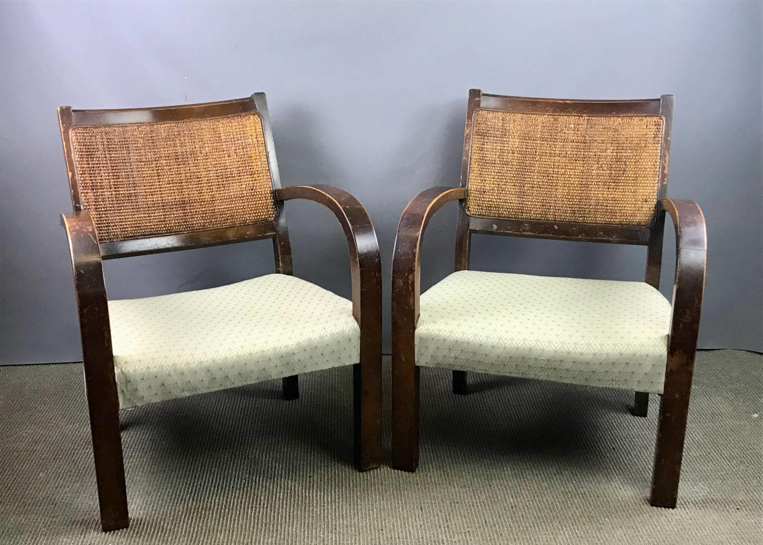 Pair of Art Deco Children's Chairs