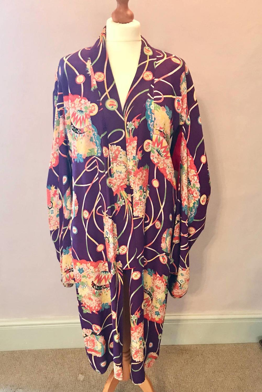 Vintage Japanese Silk Kimono / Furisode