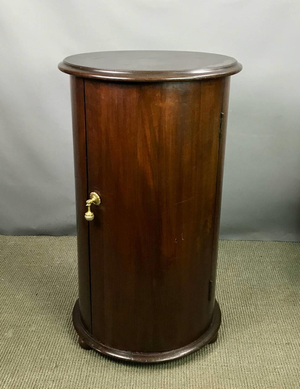 Victorian Mahogany Cylindrical Pot Cupboard