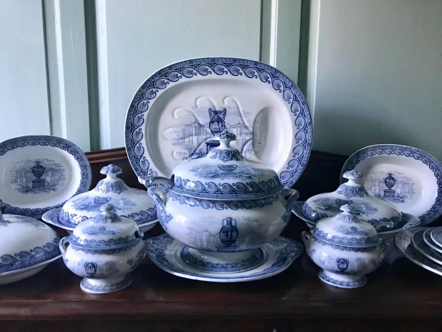 Extensive Victorian Country House Dinner Service
