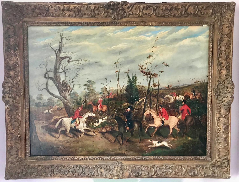 Dean Wolstenholme Jnr., Breaking Cover, Oil on Canvas