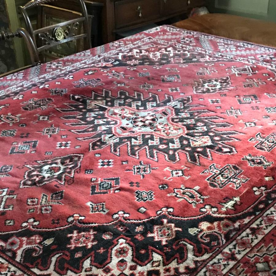 Edwardian Chenille Tablecloth