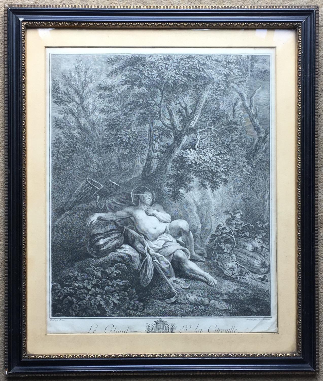18th Century Engraving after Nicolas Bertin