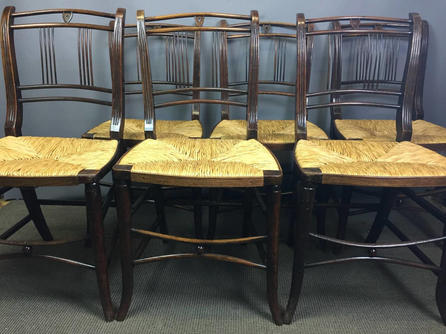 Set of Six Early 19th Century Dining Chairs