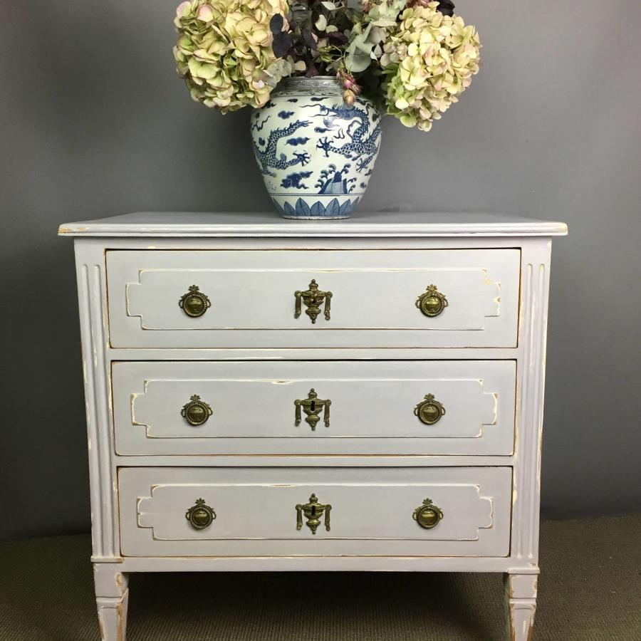 Small Italian Neo-Classical Painted Commode