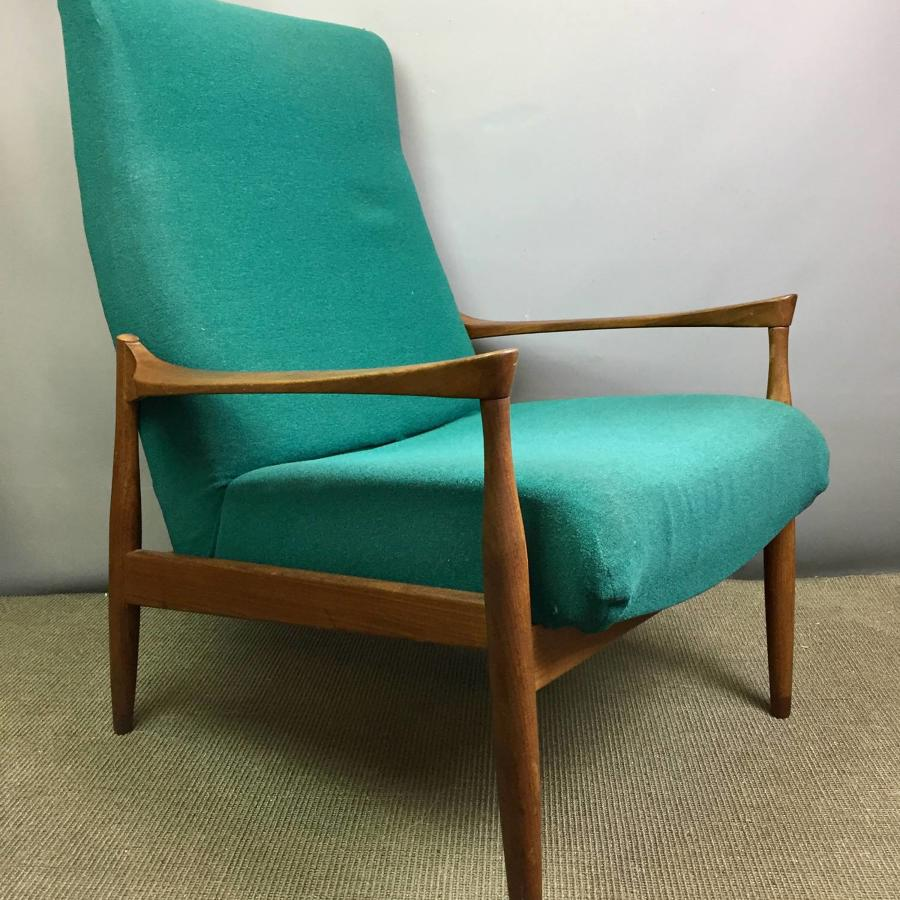 Pair of Ib Kofod Larsen for G-Plan Danish Lounge Chairs
