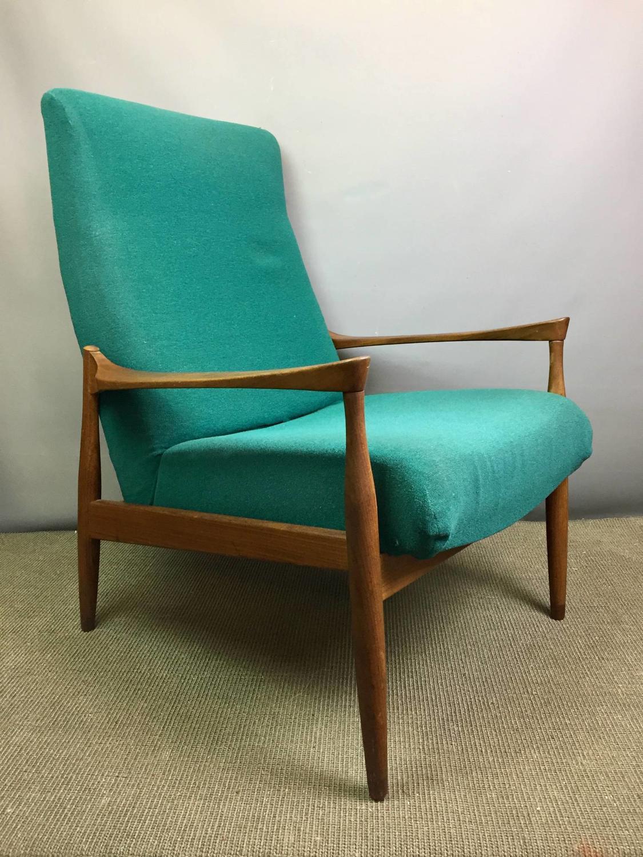 Pair of Ib Kofod Larsen for G-Plan Danish Lounge Chairs