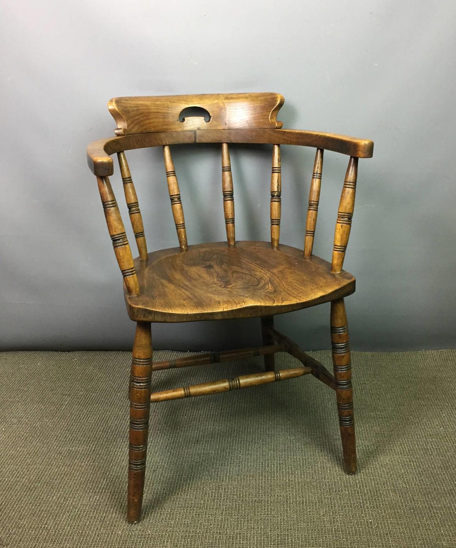 Ash & Elm Captains Chair