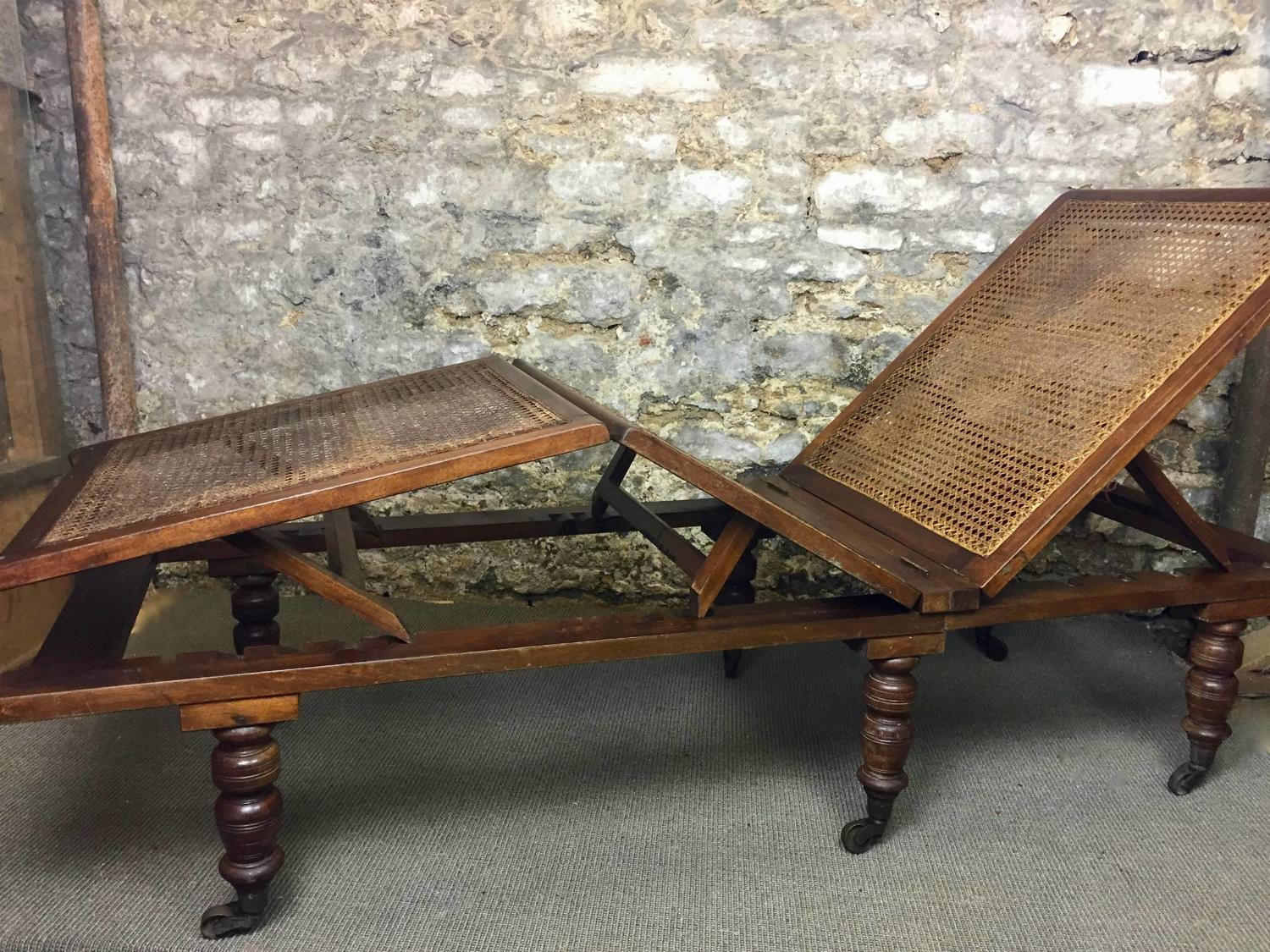 Victorian Folding Campaign Bed