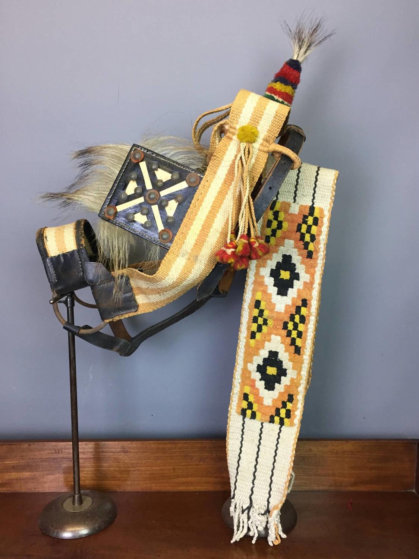 Vintage Traditional Spanish Donkey's Harness