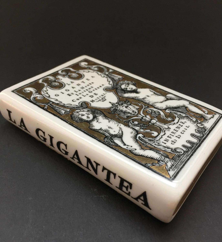 Fornasetti 'La Gigantea' Porcelain Paperweight