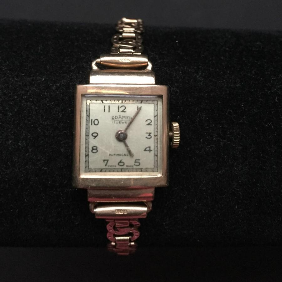 Roamer Ladies 9ct Bracelet Watch