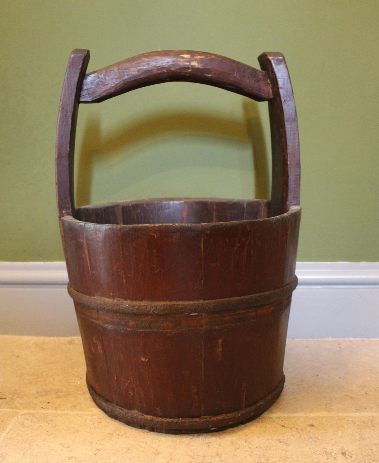 Antique Chinese Water Bucket