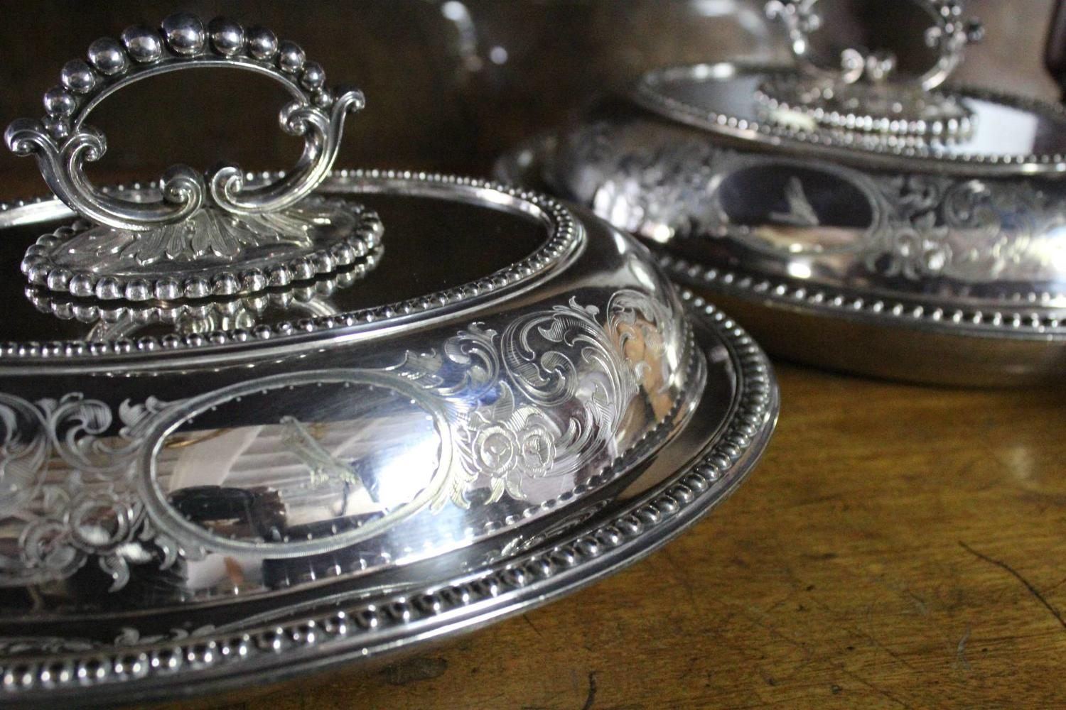 Victorian Silver Plated Tureens