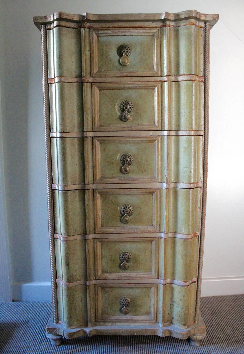 Painted Spanish Chest of Drawers