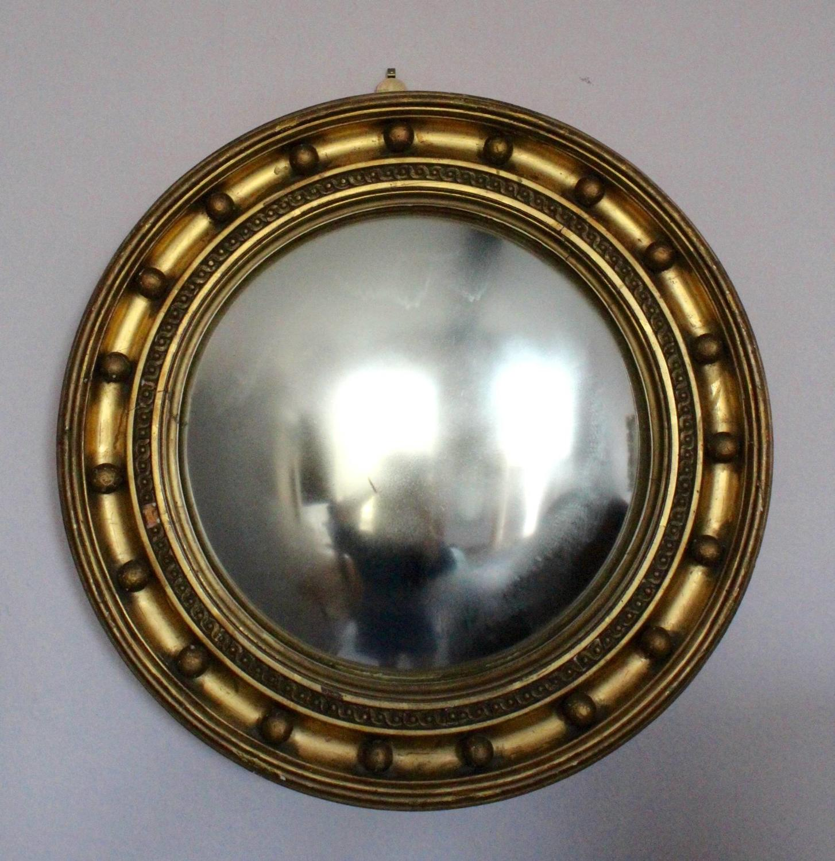 Gilt Convex Wall Mirror