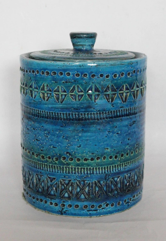 Bitossi Rimini Jar & Cover designed by Aldo Lundi