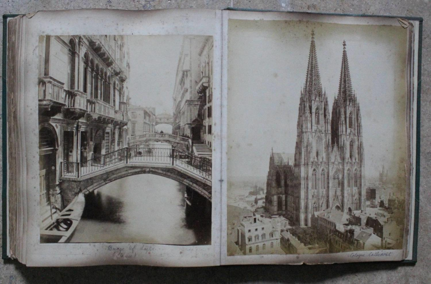19th Century European Grand Tour Photograph Album