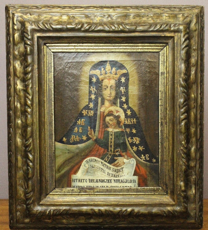 Madonna del Sangue Oil on Canvas