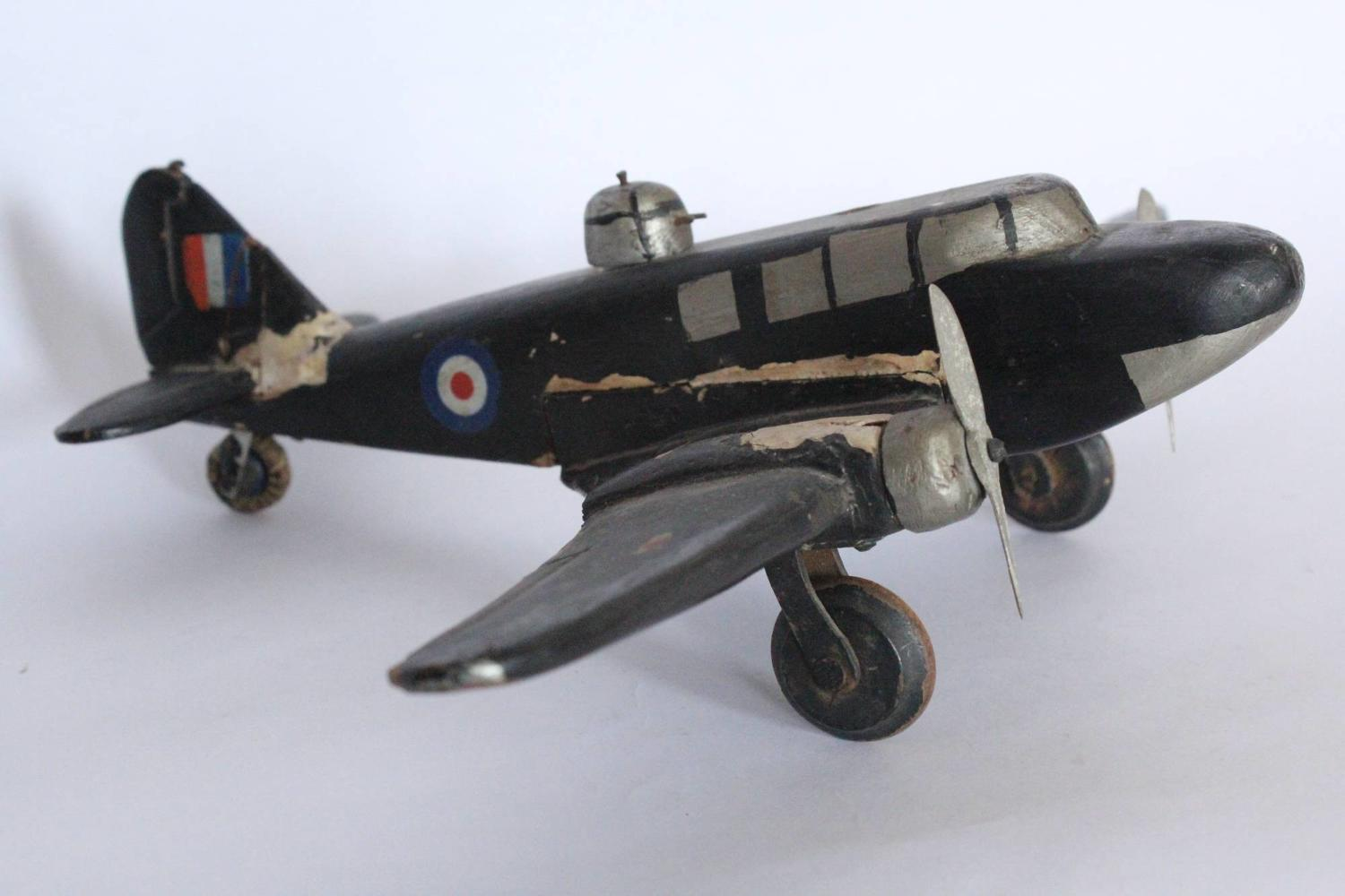 WWII Naive Scratch Build Model Aeroplane