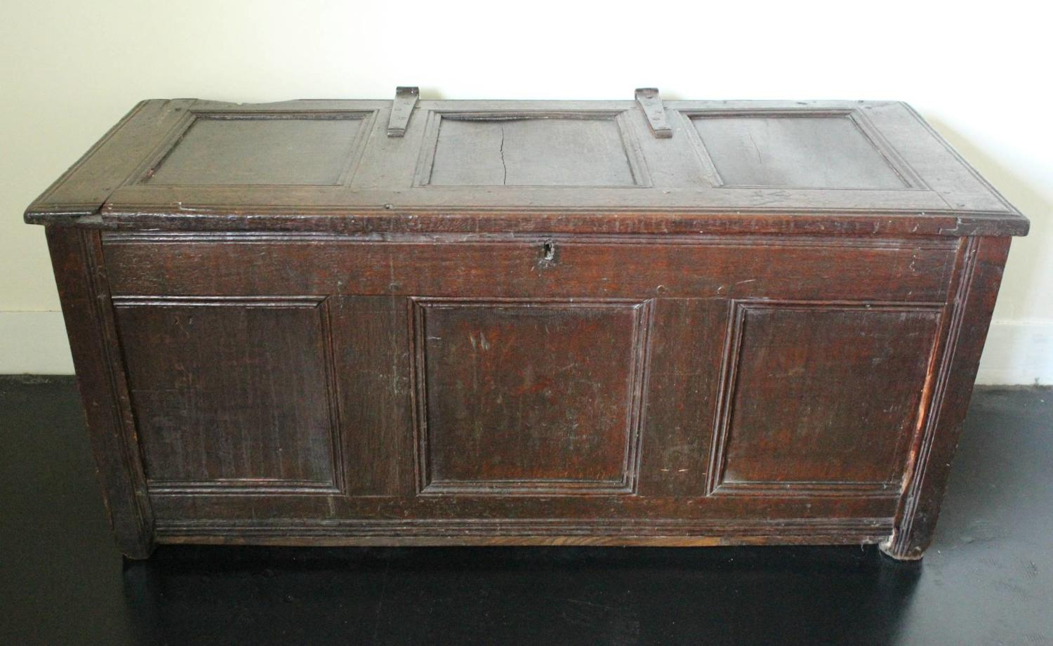 18th Century Oak Coffer