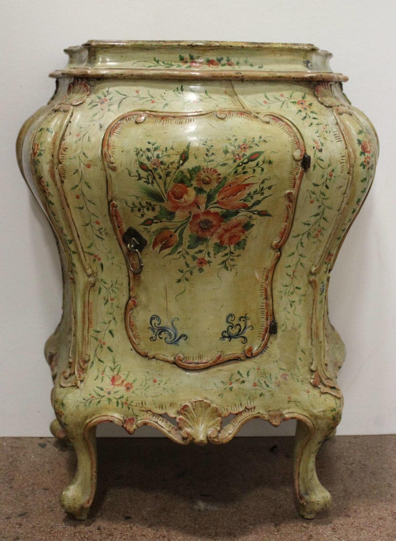 Venetian Hand Painted Cupboard