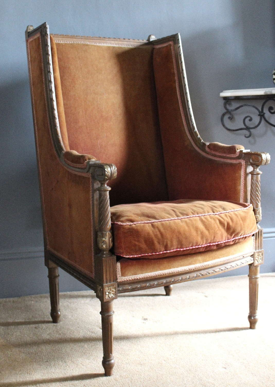 Antique French Fauteuil Armchair