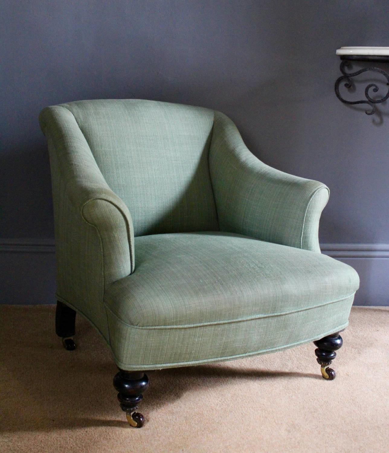 Small Antique Victorian Armchair