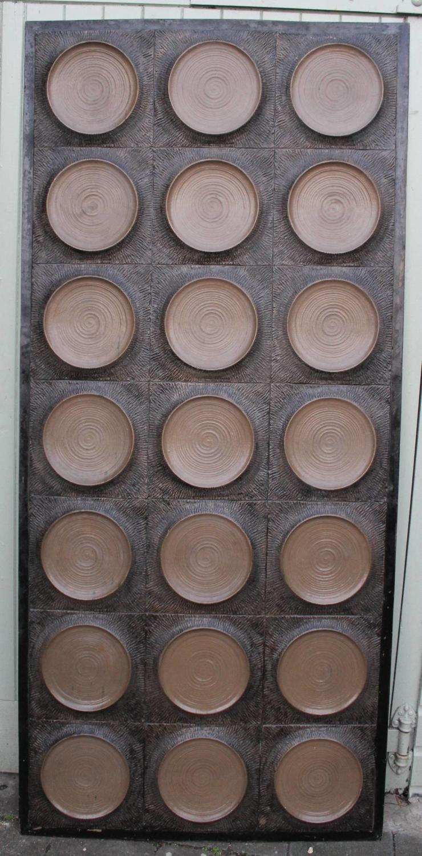 1970's Architectural Fibreglass Panel