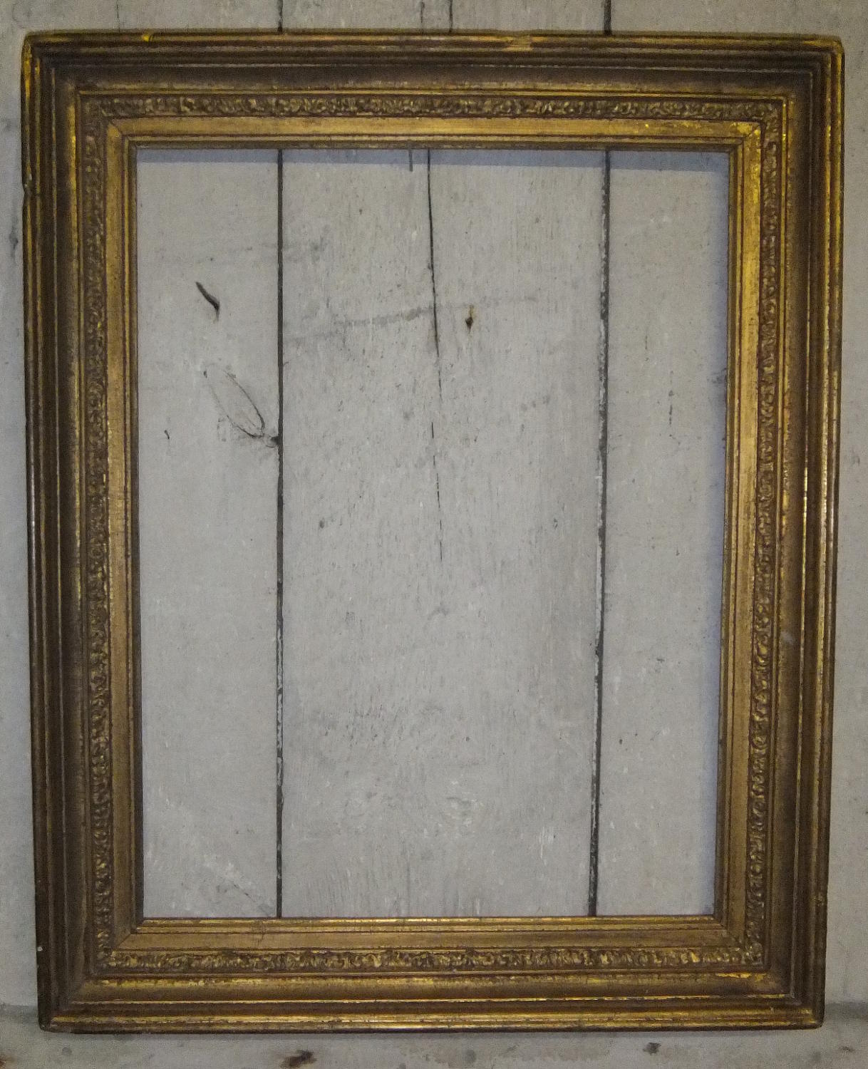 19th Century Gilt Gesso Picture Frame