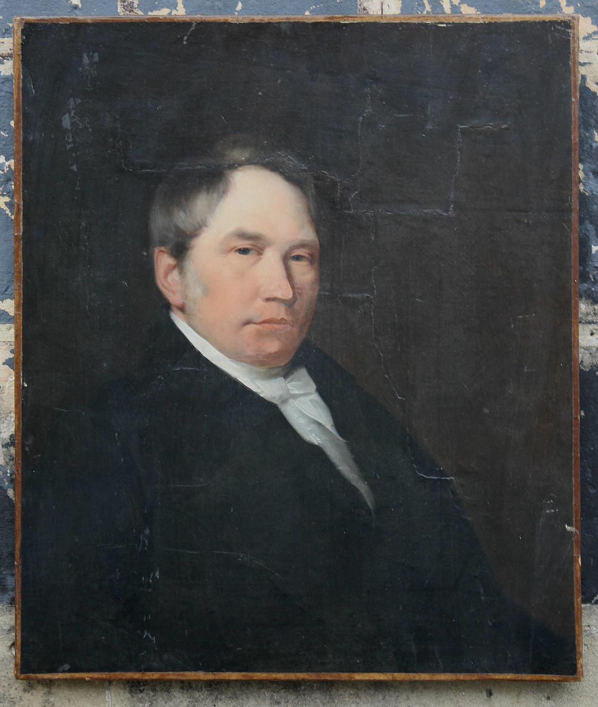 Victorian Oil Portrait of a Gentleman