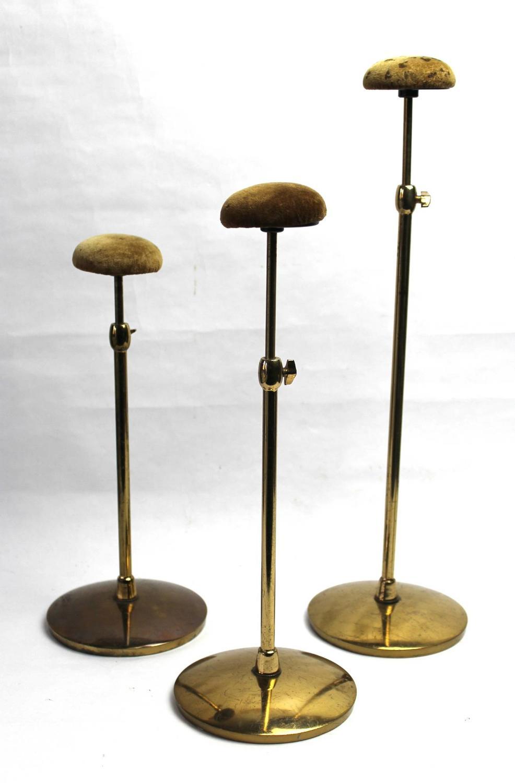 Harris & Sheldon Shop Display Telescopic Hat Stands