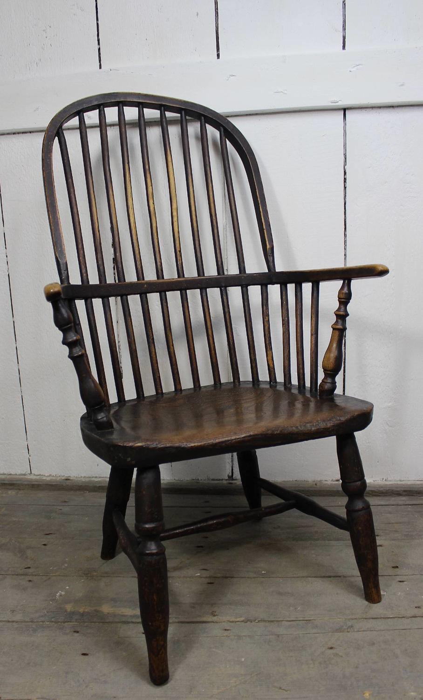 Antique Stickback Windsor Armchair