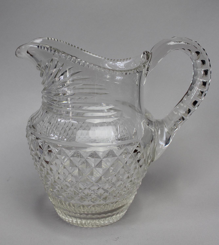 Regency Revival Cut Glass Jug