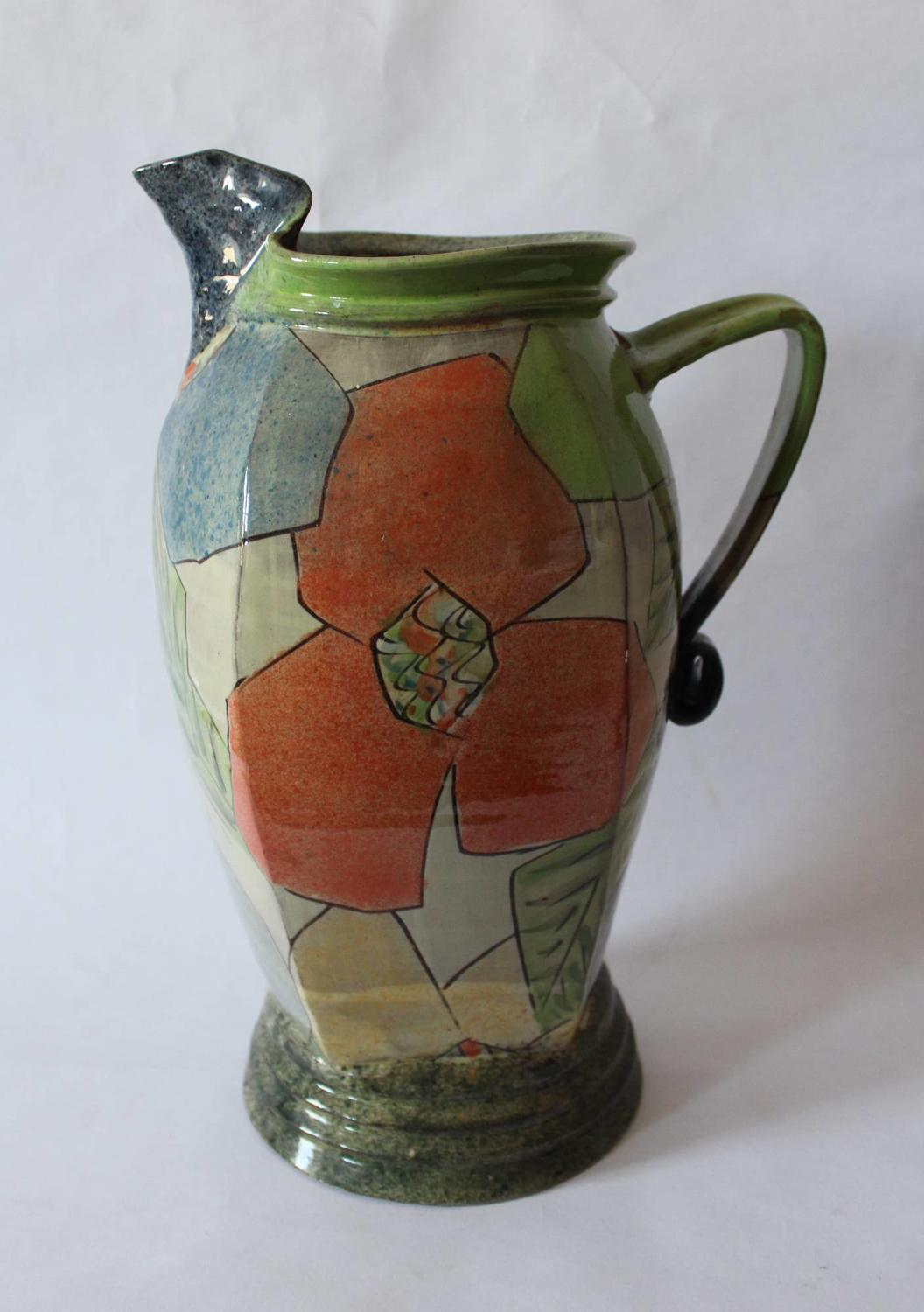 Paul Jackson Abstract Pottery Jug