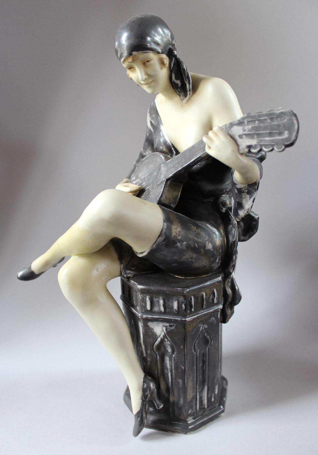 Royal Dux Art Deco Figure