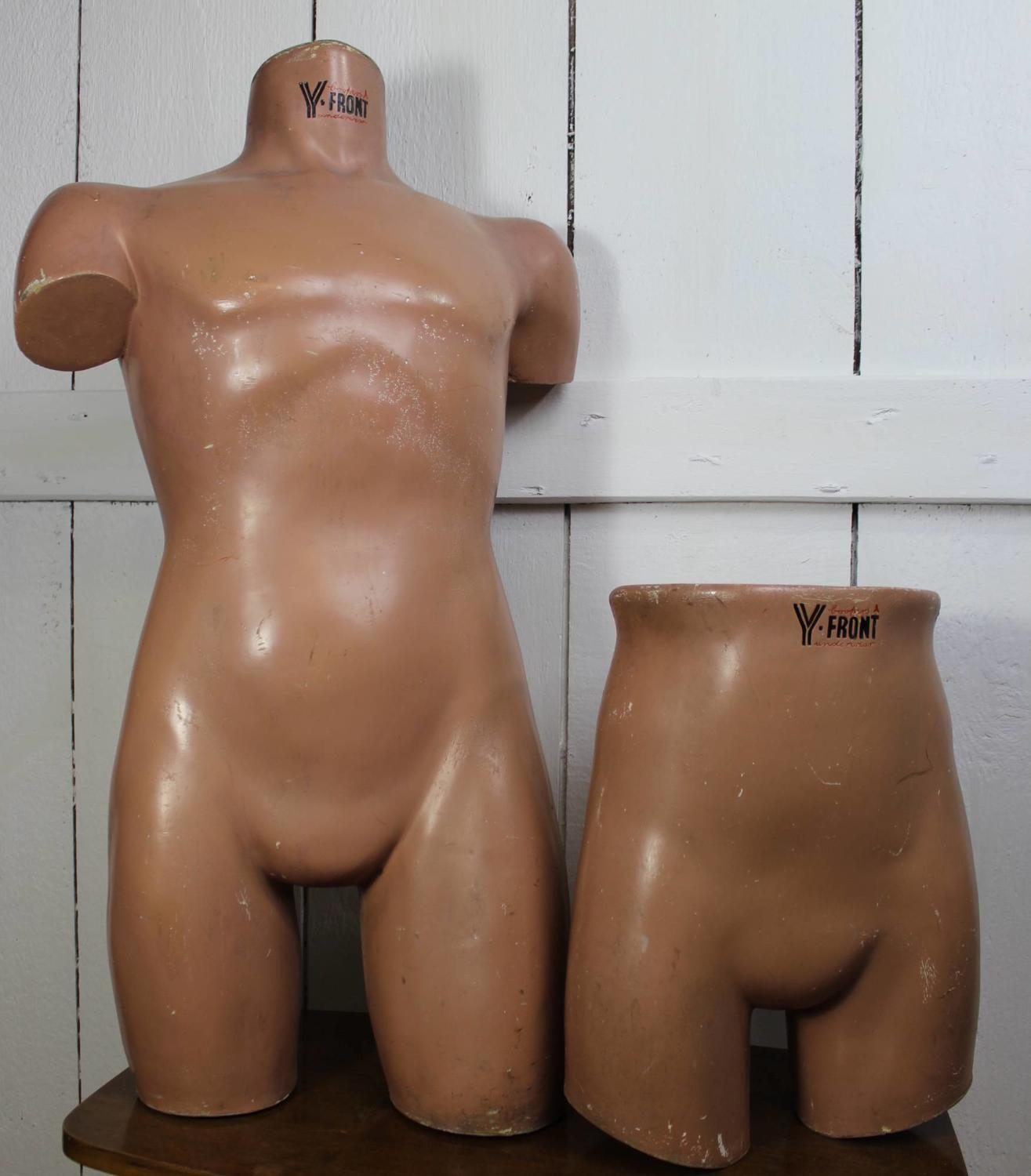 Y-Fronts Shop Display Advertising Mannequins
