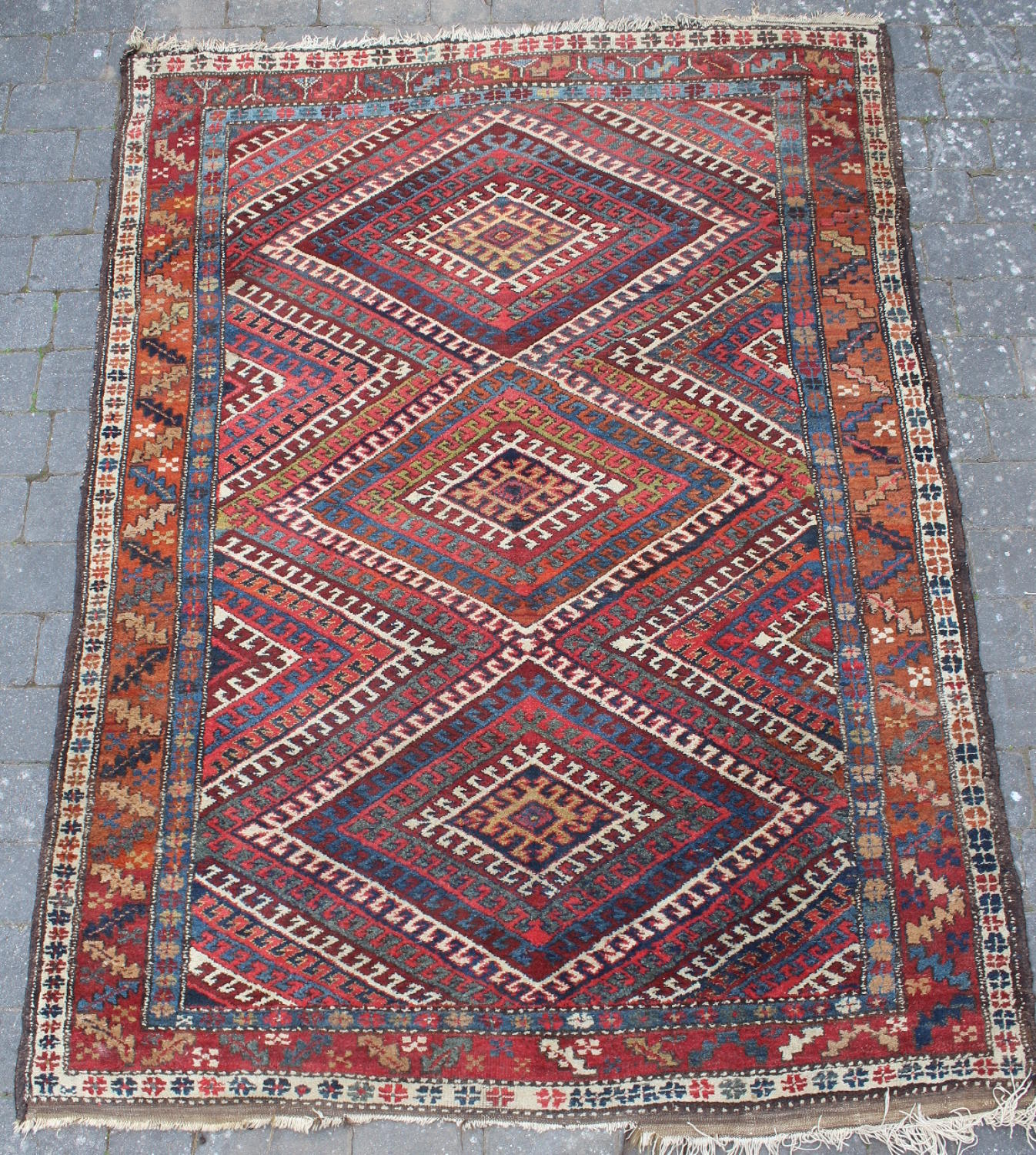 A Kurdish Medallion Rug