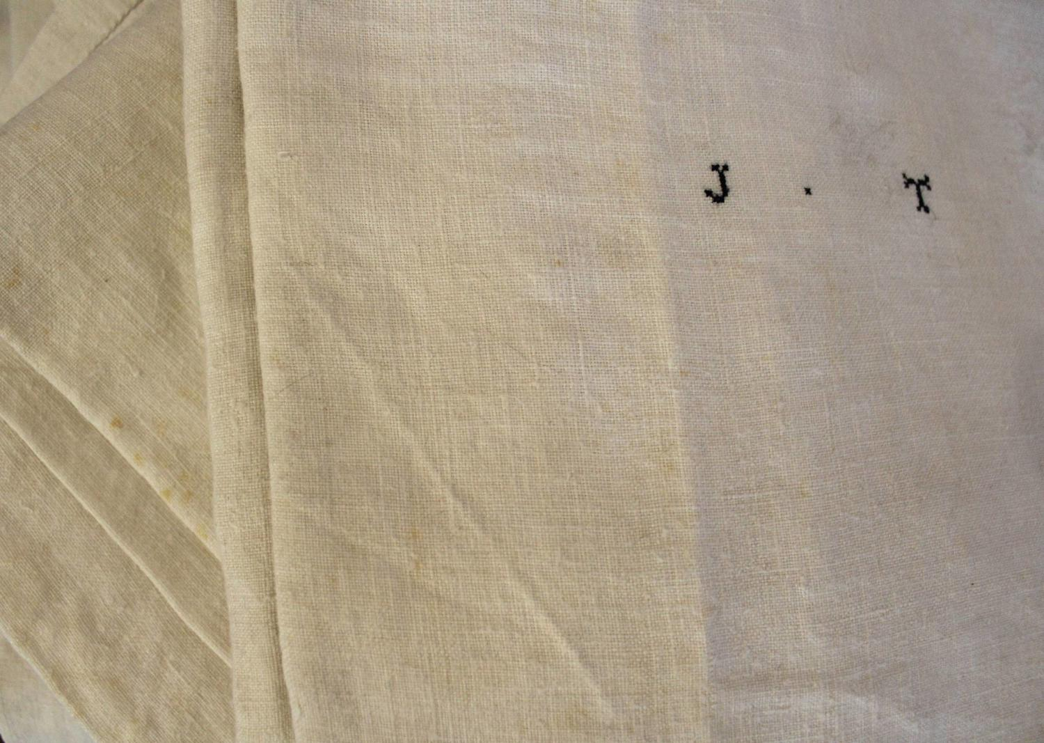 Superb Antique French Hemp Sheets