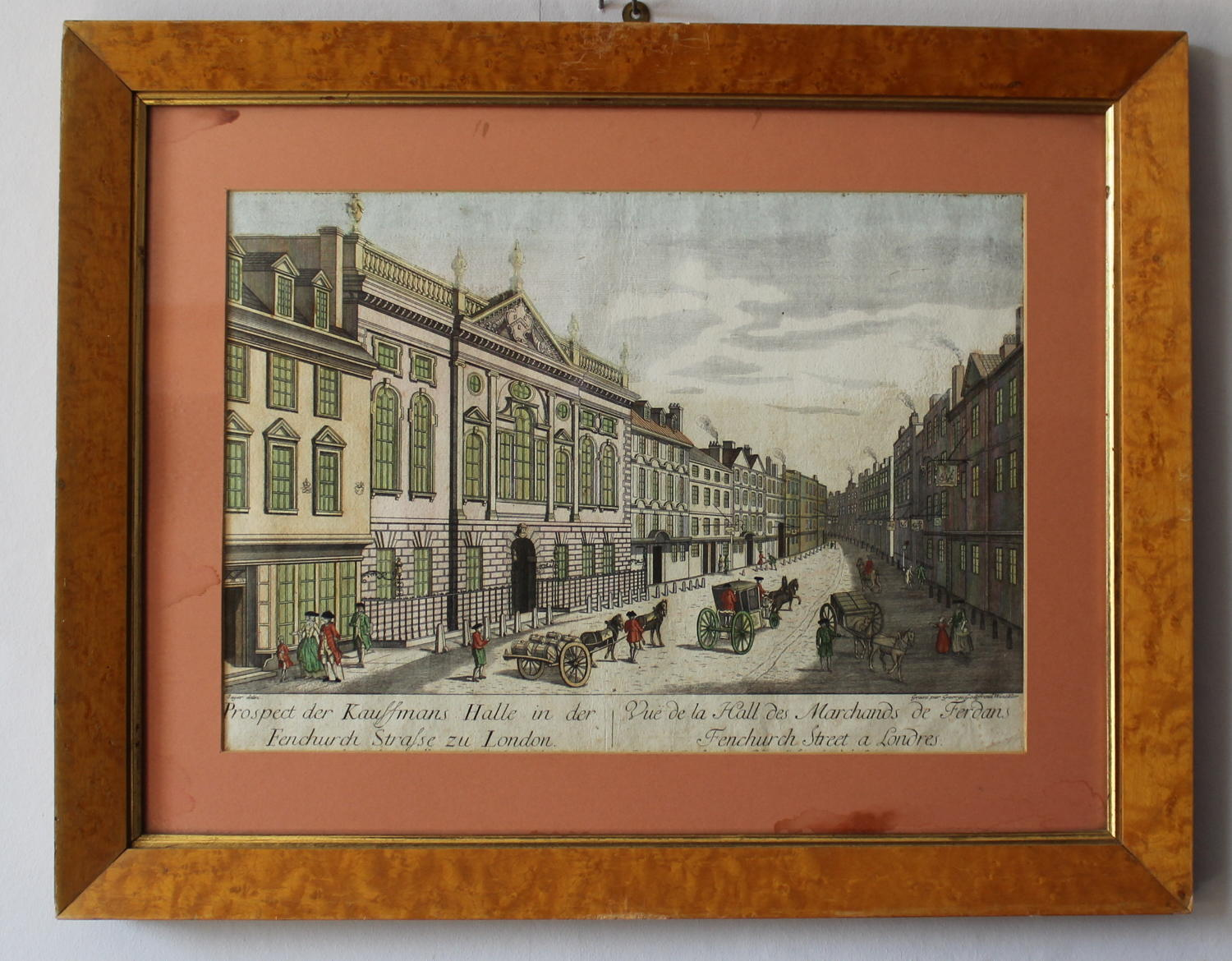 Winckler - Optical Print of Ironmongers Hall, Fenchurch St, London