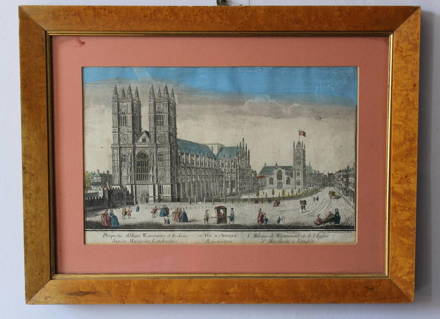 Daumont - Optical Print of Westminster Abbey