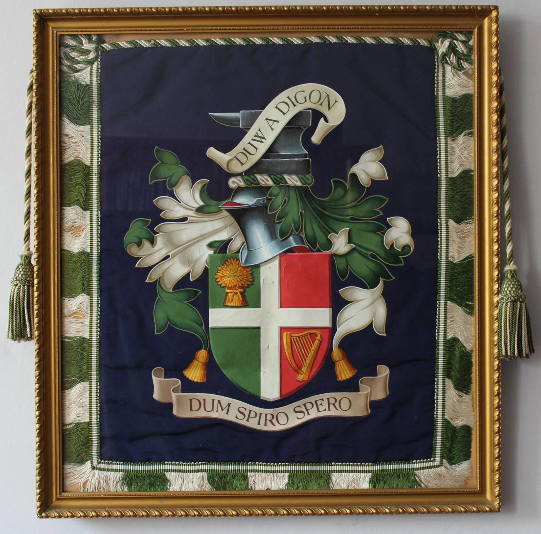 Welsh Heraldic Armorial Escutcheon