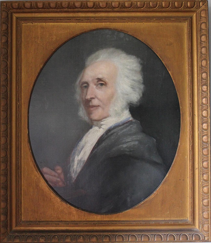 19th Century Oil Portrait of a Gentleman Artist